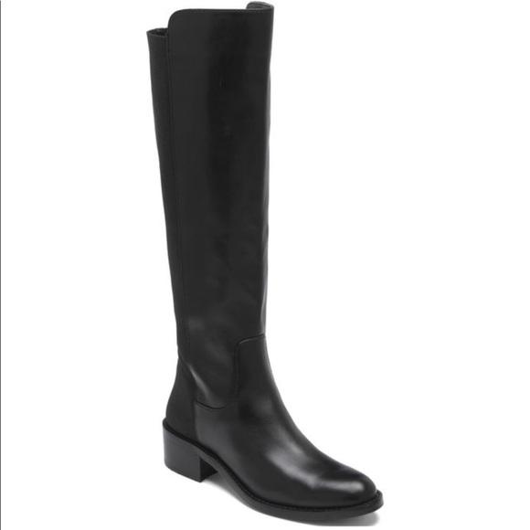 dcd82dc28 bcbgeneration jericho black leather riding boot